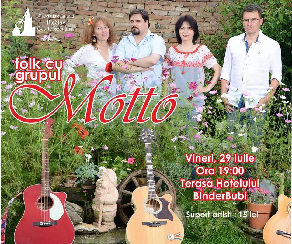 Folkul anilor '80 cu grupul folk Motto