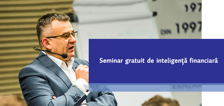 Seminar gratuit de inteligenta financiara – maine la Sibiu