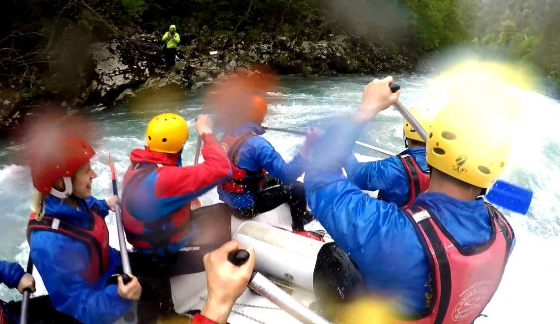 Cum a fost la rafting in Bosnia