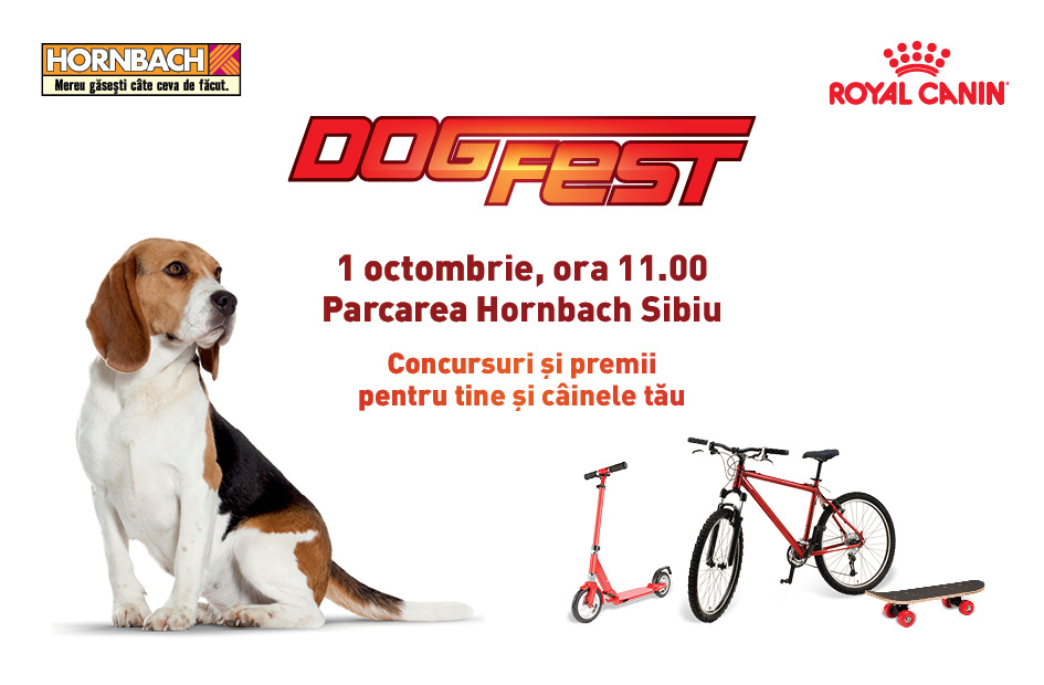 DogFest la Sibiu – 1 Octombrie